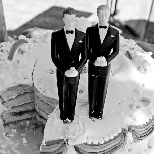 Sam Sex Wedding Cake
