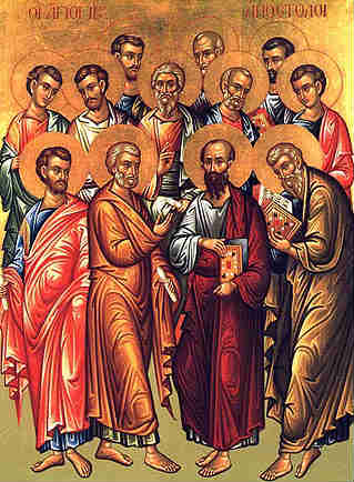 The 12 Apostles of Jesus