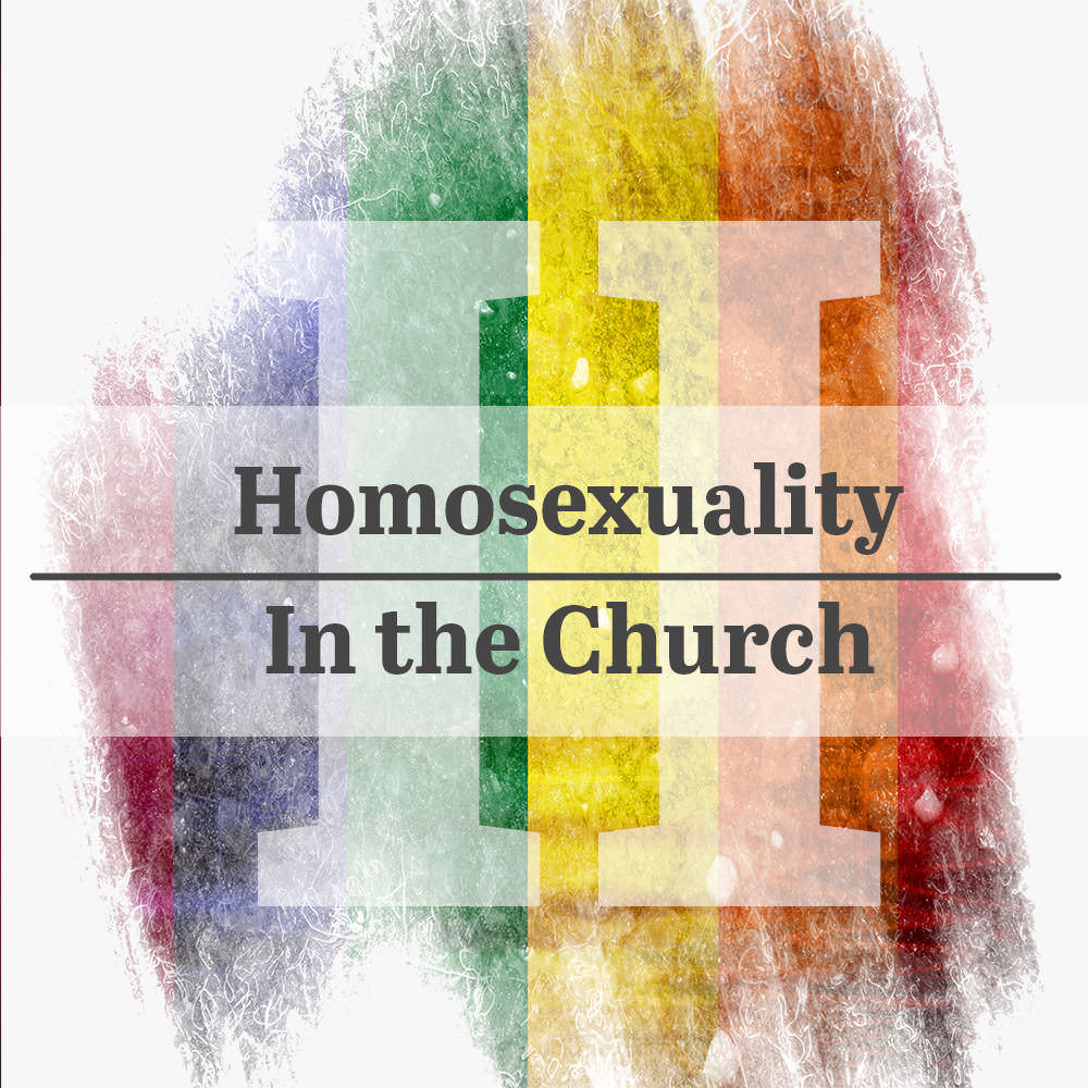 Homosexuality in the Church (Part 2)