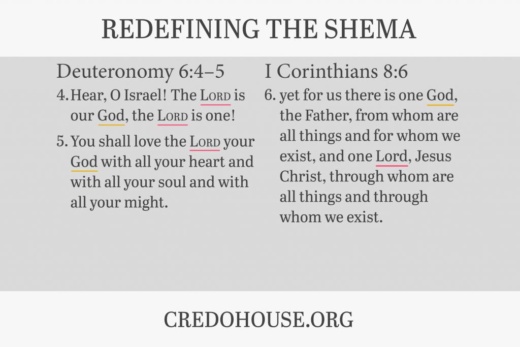 Redefining the Shema